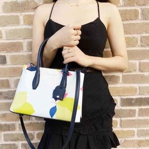 NTW Kate Spade top zip satchel